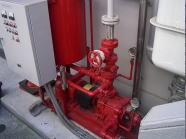 消防設備工事写真